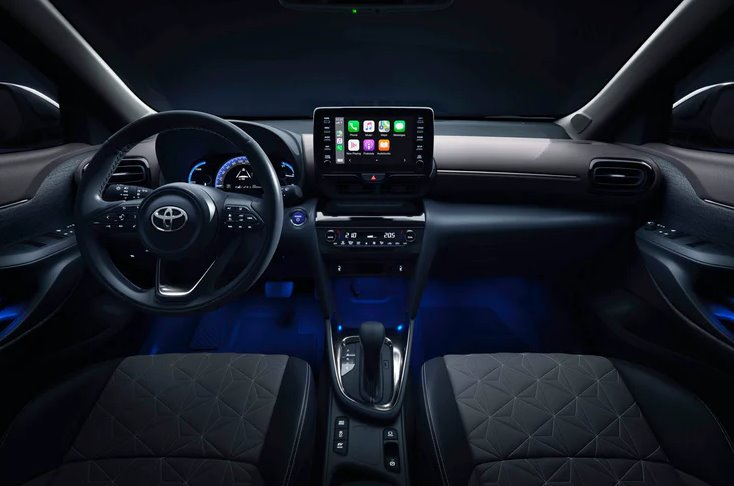 2022 Toyota Yaris Cross Interior