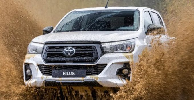 All-New Toyota Hilux 2022 Exterior