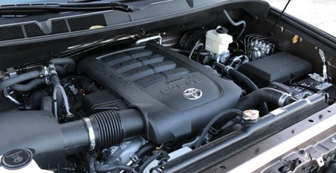 All New Toyota Sequoia 2022 Engine