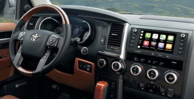 New 2021 Toyota Sequoia Interior