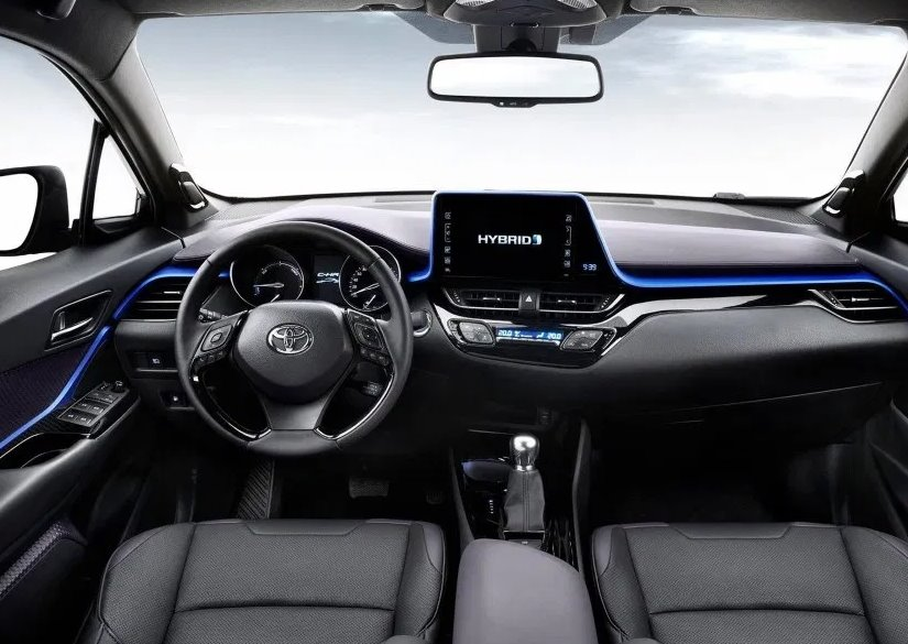 New 2022 Toyota CHR Interior