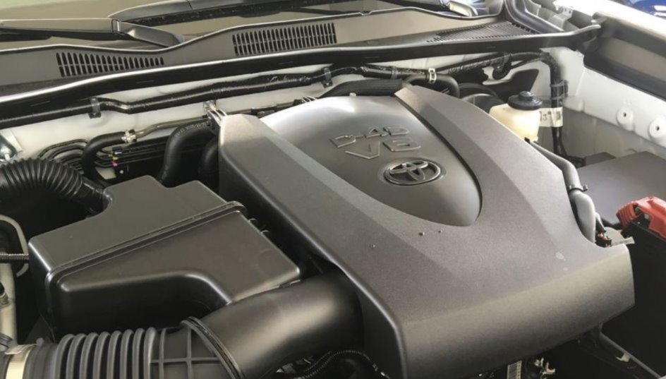 New 2022 Toyota Tacoma Engine