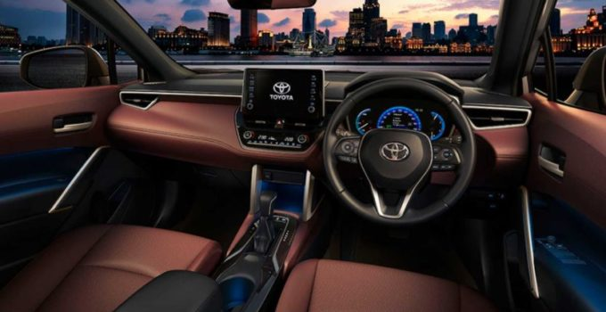 New Toyota Corolla 2022 Interior