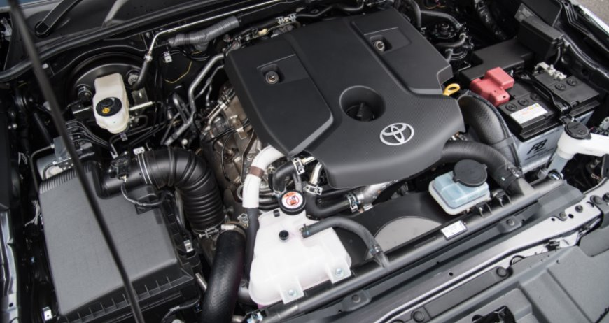 New Toyota Fortuner 2022 Engine