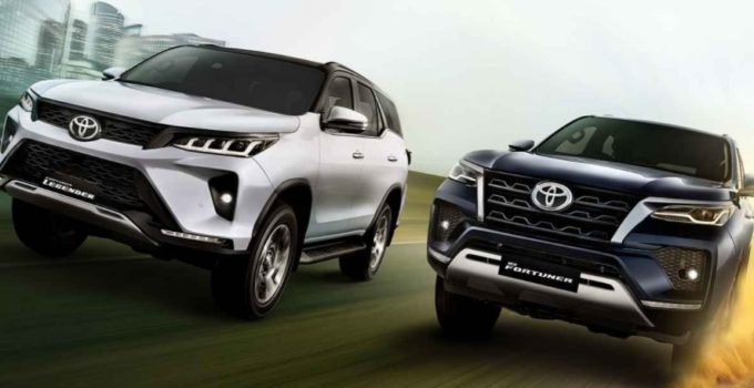 New Toyota Fortuner 2022 Exterior