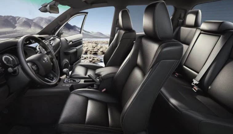 New Toyota Fortuner 2022 Interior