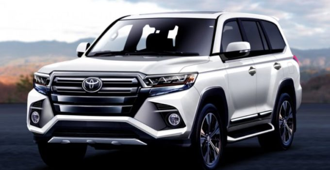 New Toyota Land Cruiser 2022 Exterior