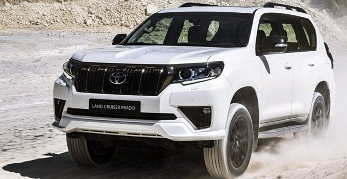 New Toyota Land Cruiser Prado 2022 Exterior