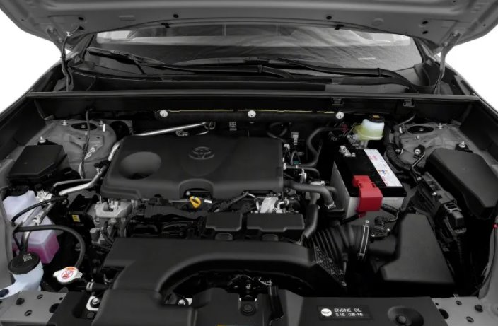 New Toyota Rav4 Hybrid 2022 Engine