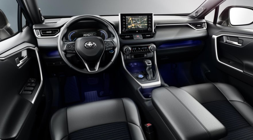 New Toyota Rav4 Hybrid 2022 Interior