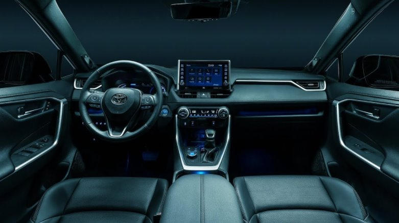 New Toyota Rav4 Prime 2022 Interior