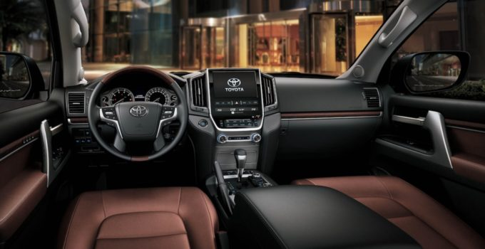 2022 Toyota Land Cruiser Interior