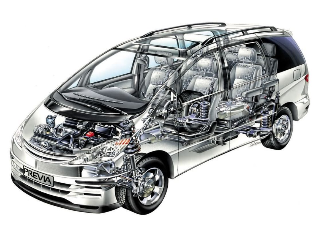 2022 Toyota Previa Engine