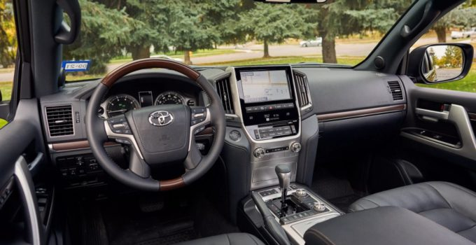 New 2022 Toyota 4runner Interior