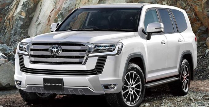 New 2022 Toyota Land Cruiser Exterior