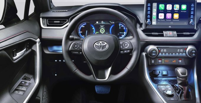 New 2022 Toyota Rav4 Hybrid Interior