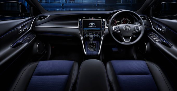 2022 Toyota Harrier Interior