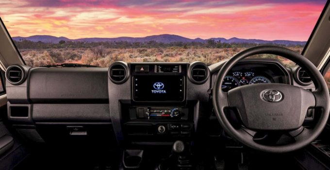 2022 Toyota Land Cruiser 70 Series Interior