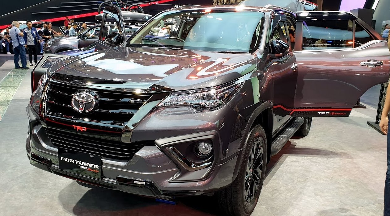 All New Toyota Fortuner 2022 Exterior