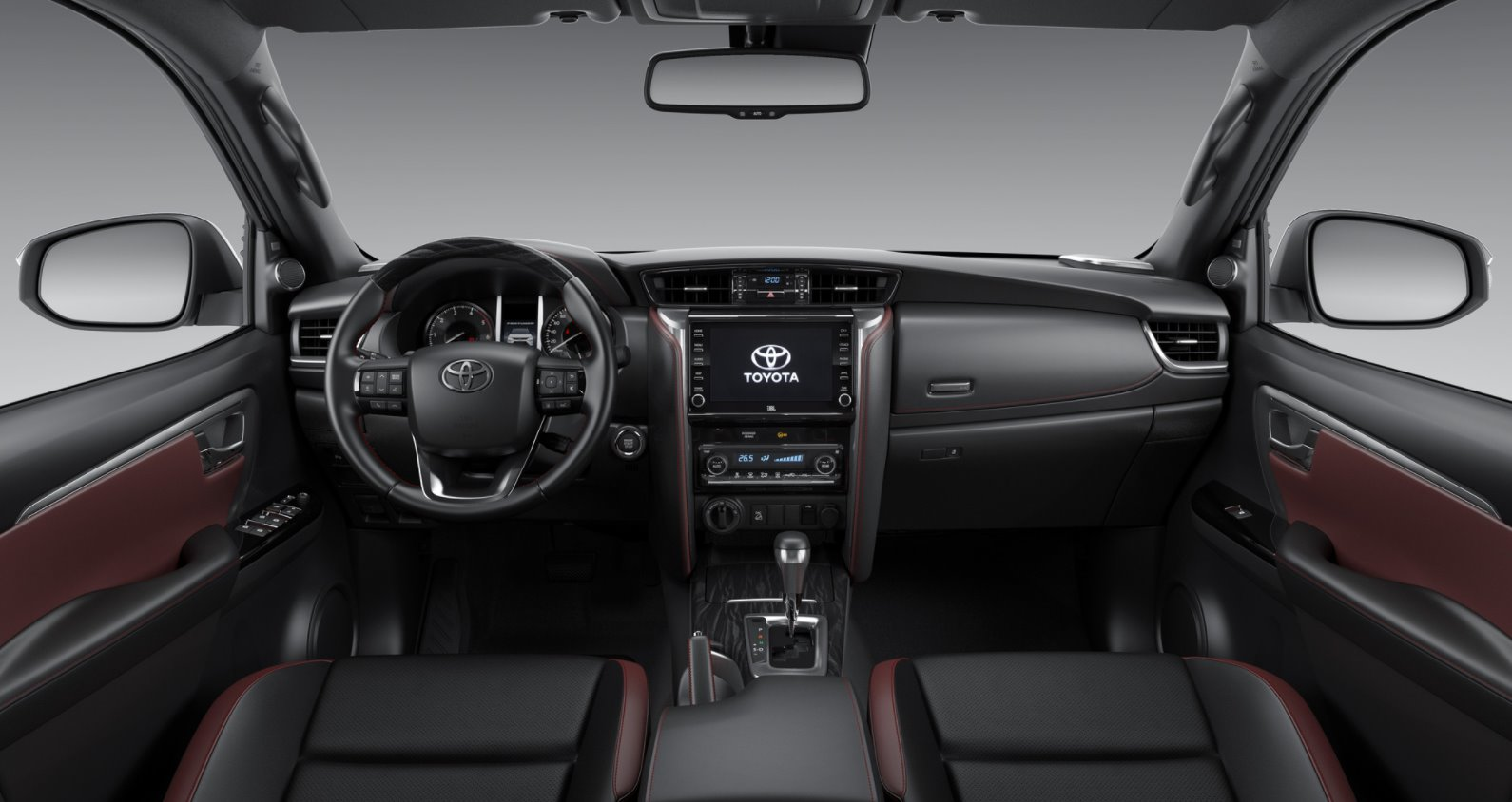 All New Toyota Fortuner 2022 Interior